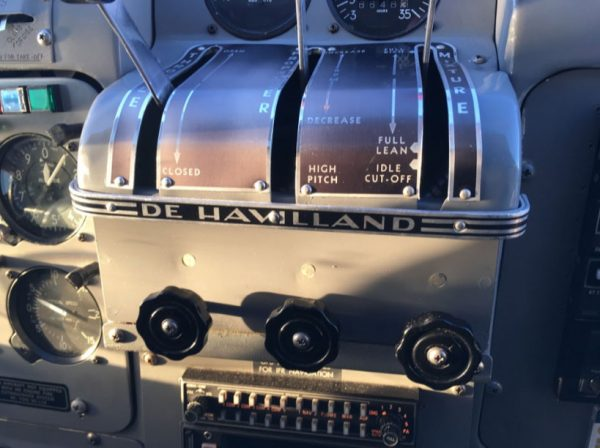 DeHavilland Cockpit